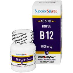 Superior Source No Shot Triple B12