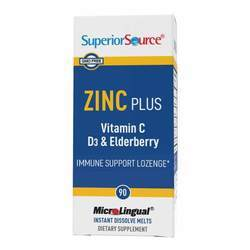 Superior Source Zinc Plus Vitamin C and Elderberry