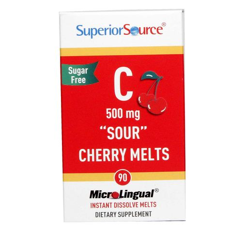 C 500 mg Sour Cherry Melts