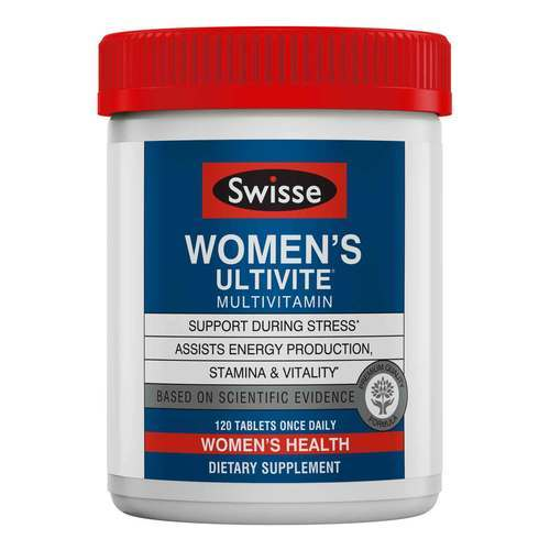 Swisse Women's Ultivite Multivitamin - 120 Tablets - 321205_front2020.jpg