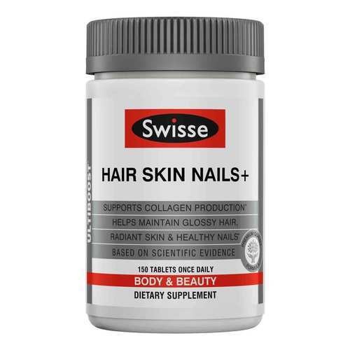 Swisse Hair Skin Nails + - 150 Tablets - 321208_front2020.jpg