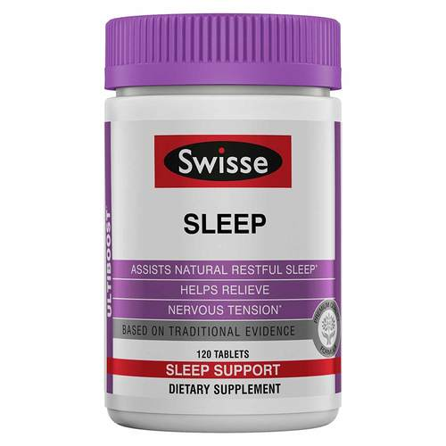 Swisse Sleep - 120 Tablets - 321212_front.jpg