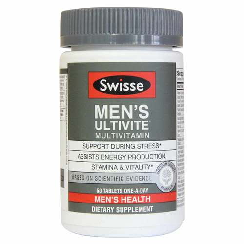 Swisse Men S Ultivite Multivitamin 120 Tablets