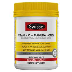 Swisse Vitamin C and Manuka Honey