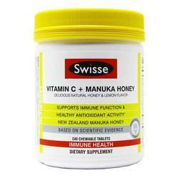 Swisse Ultiboost Vitamin C + Manuka Honey