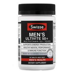 Swisse Men's Ultivite 50+ Multivitamin
