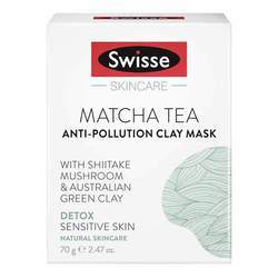 Swisse Matcha Tea Clarifying Clay Mask