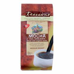 Teeccino Chicory Herbal Coffee Mocha Mediterranean Medium Roast Coffee