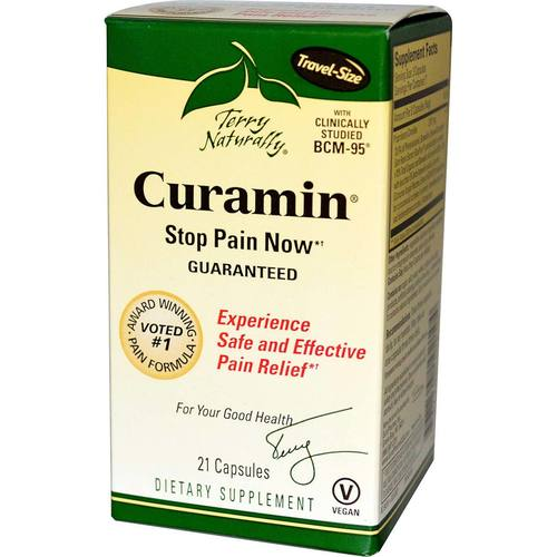 Terry Naturally Curamin - 21 capsules