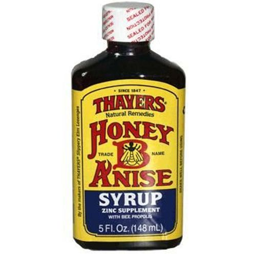 Honey-B-Anise Syrup