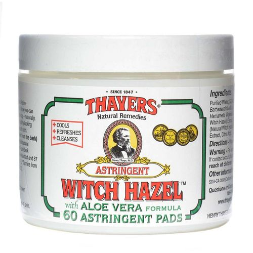 Witch Hazel with Aloe Vera Astringent Pads