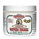 Thayers Witch Hazel with Aloe Vera Astringent Pads