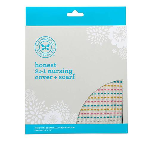 2-in-1 Organic Nursing Cover and Scarf