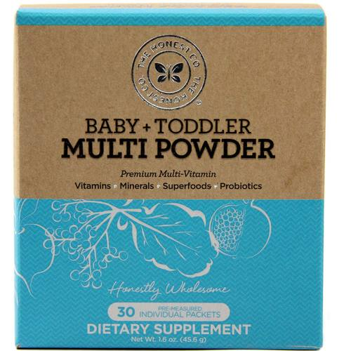 The Honest Company Baby And Toddler Multi Powder 30