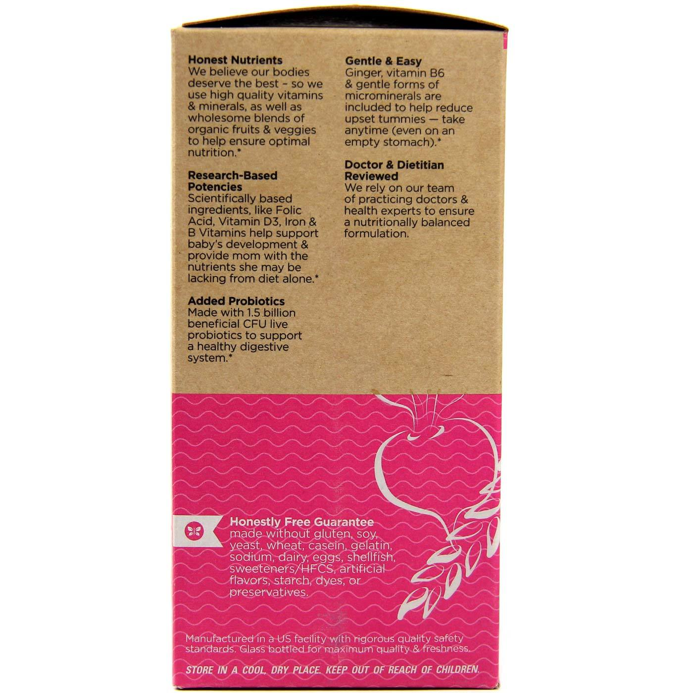 The Honest Company Whole Food Based Prenatal 90 Tablets Evitamins India
