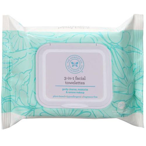 3-in-1 Facial Towelettes