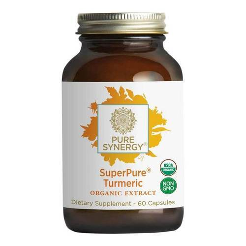 The Synergy Company SuperPure Turmeric Extract - 60 Organic Vegetarian Capsules - 353562_front2019.jpg