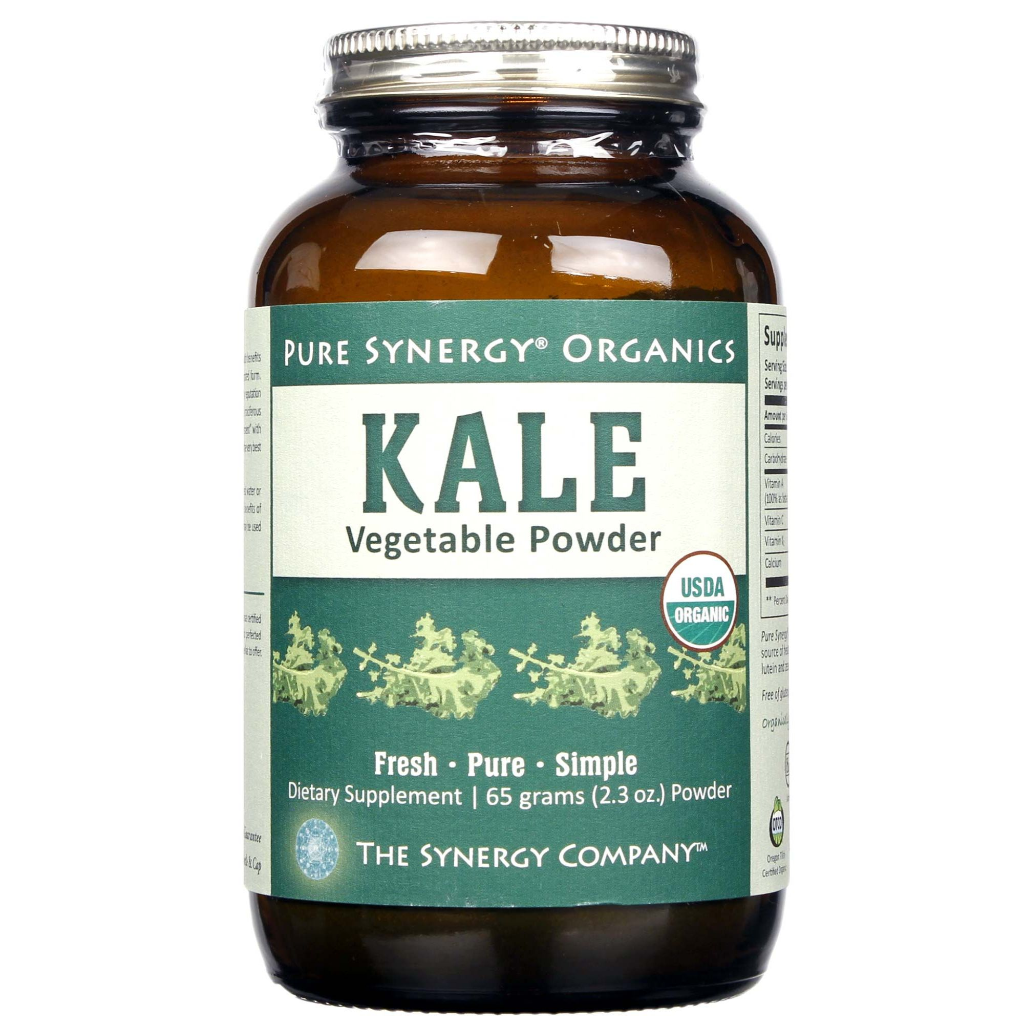The Synergy Company Kale Vegetable Powder 65 G