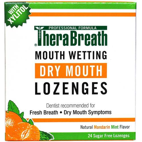 Mouth Wetting Fresh Breath Lozenges