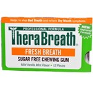TheraBreath Fresh Breath Sugar Free Chewing Gum