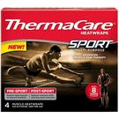 Thermacare Sport Muscle Heat Therapy Wraps