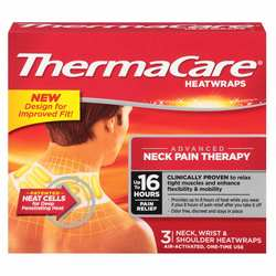 Thermacare Neck- Wrist and Shoulder Heat Wraps