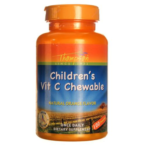 Children's Vitamin C Chewable 100 mg