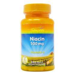 Thompson Niacin 500 mg Vitamin B-3