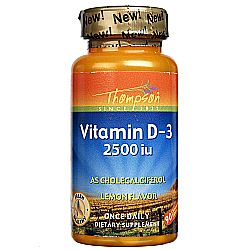 Thompson Vitamin D3 2500 IU