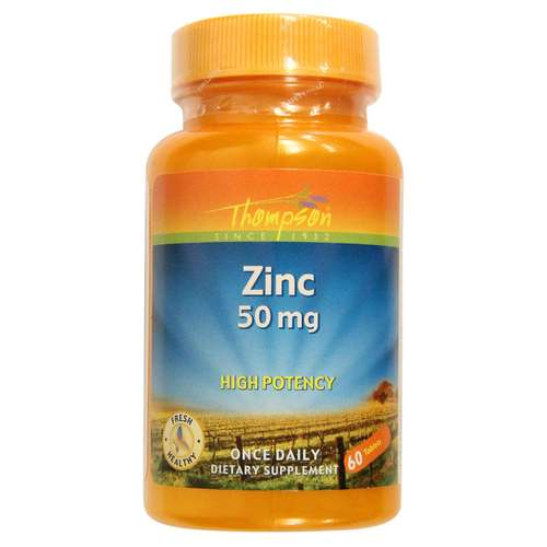 Thompson Zinc 50 mg - 60 Tablets - 32053_front.jpg