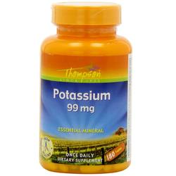 Thompson Organic Potassium 99 mg