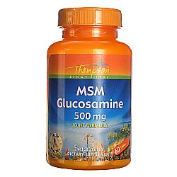 Thompson MSM Glucosamine 500 mg