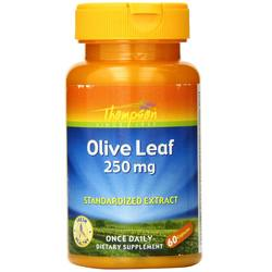 Thompson Olive Leaf 250 mg