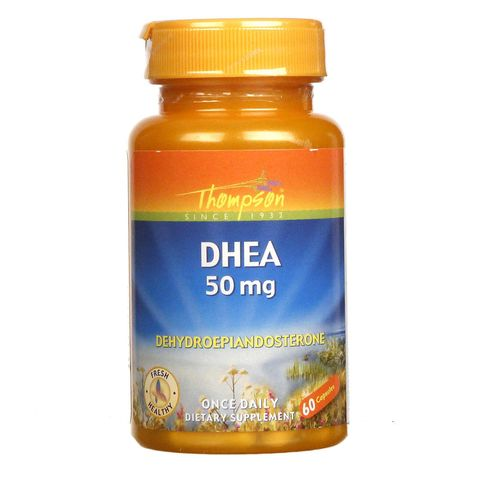 Thompson DHEA  - 50 mg - 60 Capsules - 031315193644_1.jpg