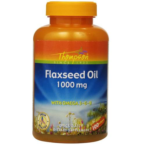 Flaxseed Oil 1-000 mg