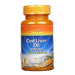Thompson Cod Liver Oil 400 mg