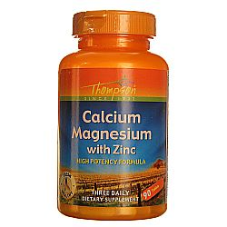 Thompson High-Potency Calcium Magnesium with Zinc