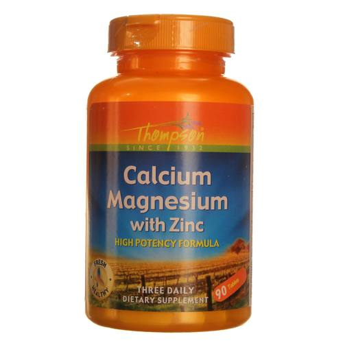High-Potency Calcium Magnesium with Zinc