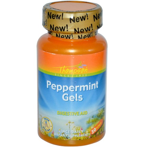 Peppermint Gels 250 mg