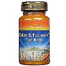 Thompson Calm and Focused For Kids - Grape - 30 Chewables