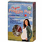 Three Lollies Organic Preggie Pop Drops - Assorted - 12 Pieces