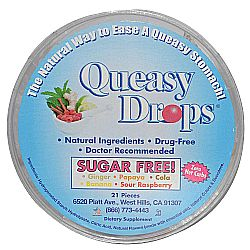Three Lollies Queasy Drops Sugar Free