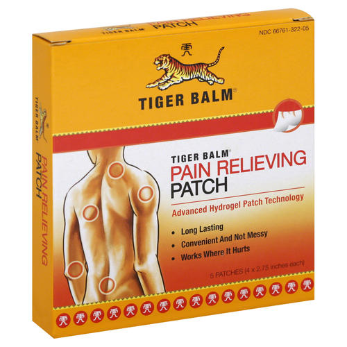 Pain Relieving Patches