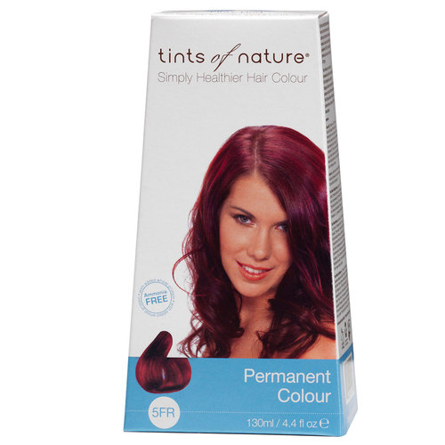 Tints of Nature Permanent Color rojo - 5FR Fiery - 4.4 fl oz