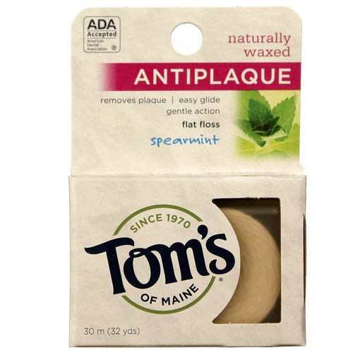 Naturally Waxed Anti-Plaque Flat Floss