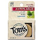 Tom's of Maine Naturally Waxed Anti-Plaque Flat Floss - Spearmint - 32 Yards