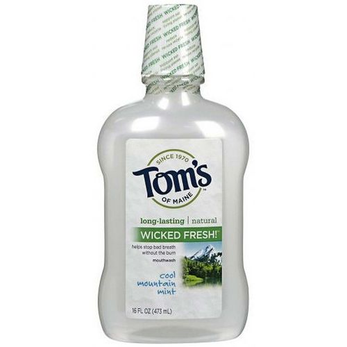 Tom's of Maine Wicked Fresh Mouthwash Cool Mountain Mint - 16 fl oz