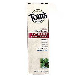 Tom's of Maine Fluoride-Free Antiplaque and Whitening Toothpaste Gel