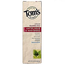 Tom's of Maine Antiplaque and Whitening Toothpaste