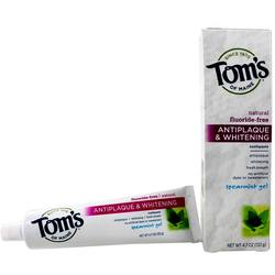 Tom's of Maine Antiplaque & Whitening Natural Toothpaste